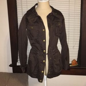 {H&M} brown jacket 4 small